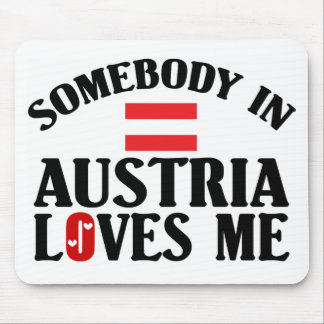 Somebody In Austria Mouse Pad