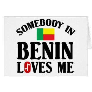 Somebody In Benin Card