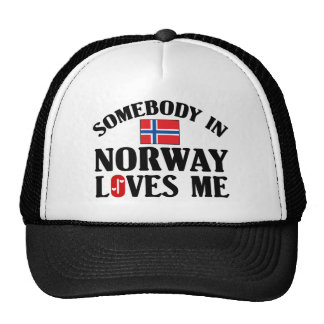 Somebody In Norway Cap