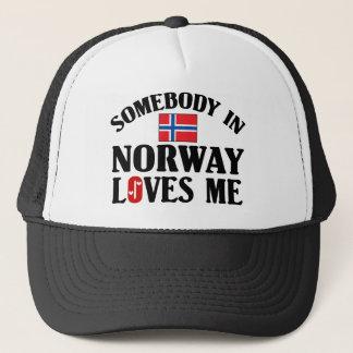 Somebody In Norway Trucker Hat