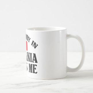Somebody In Romania Coffee Mug