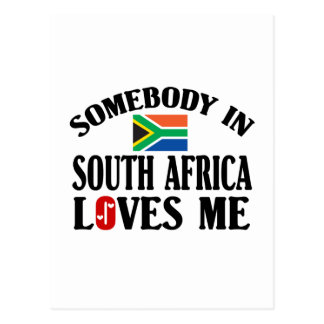 Somebody In South Africa Postcard