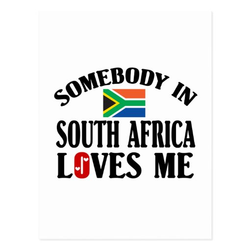 Somebody In South Africa Postcards