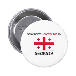Somebody Loves Me In GEORGIA Pin