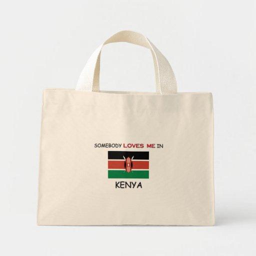 Somebody Loves Me In KENYA Mini Tote Bag