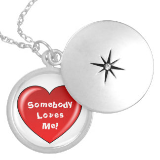 Somebody Loves  Me Necklace