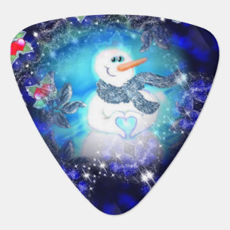 Somebody Loves You Emotional Snowman Plectrum