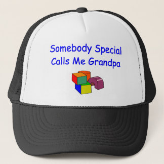 Somebody Special Calls Me Grandpa Hat
