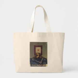Somebody Talked World War 2 Tote Bag