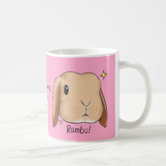 Somebunny Loves You Mug Pink