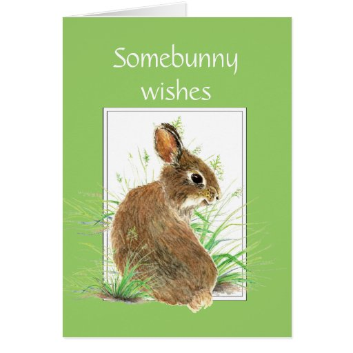 Somebunny Wishes You the Best in Your New Home Greeting Card