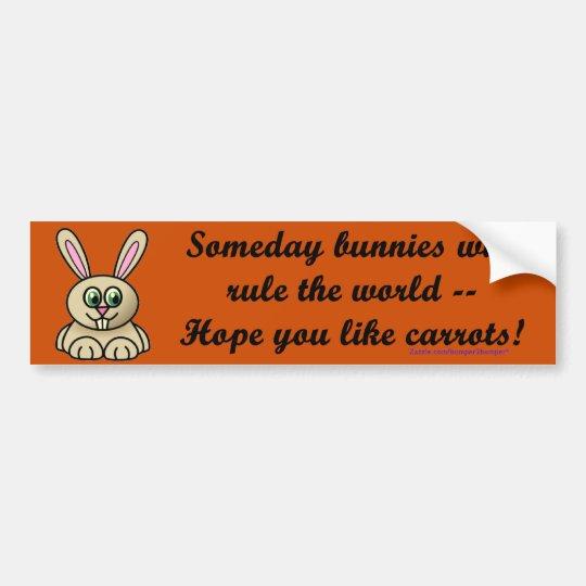 Someday Bunnies Bumper Sticker