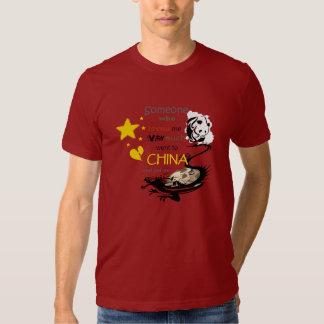 Someone got me this - China Tshirts