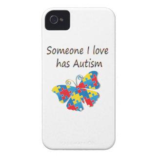 Someone I love has autism (multi) iPhone 4 Cases