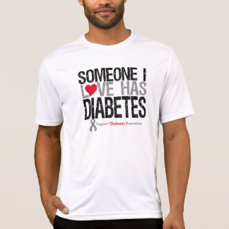 Someone I Love Has Diabetes T-Shirt
