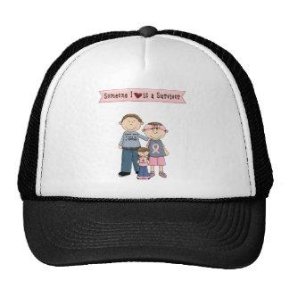 Someone I Love Is A Survivor Trucker Hat