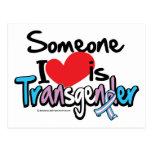 Someone I Love is Transgender Postcard