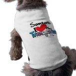 Someone I Love is Transgender Sleeveless Dog Shirt