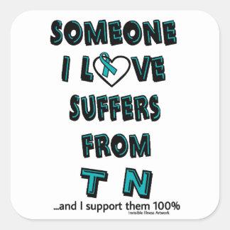 Someone I Love...TN Square Sticker