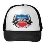 Someone In California Loves Me Mesh Hats