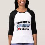 Someone in canada love me tee shirt