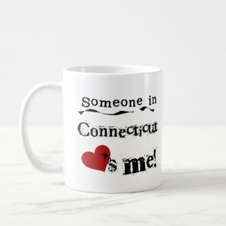 Someone In Connecticut Loves Me Coffee Mug