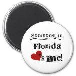 Someone In Florida Loves Me Fridge Magnets