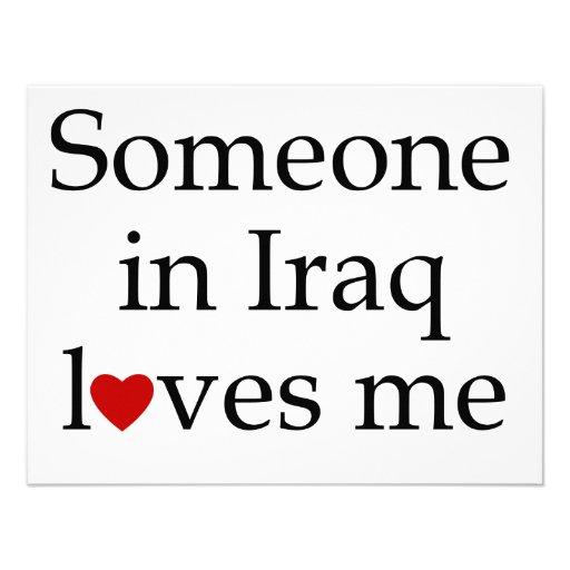 Someone in Iraq Loves Me Invites