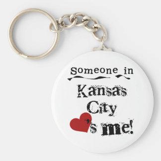 Someone in Kansas City Key Ring