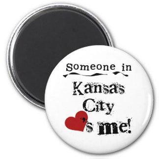 Someone in Kansas City Magnet