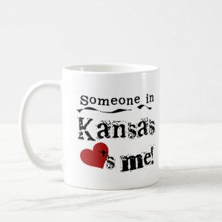 Someone In Kansas Loves Me Coffee Mug