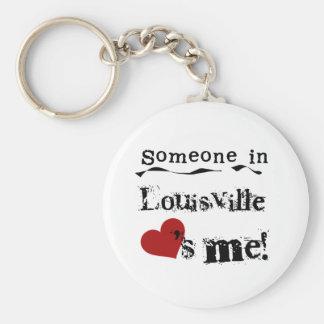 Someone in Louisville Key Ring