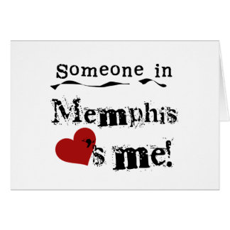 Someone in Memphis Card