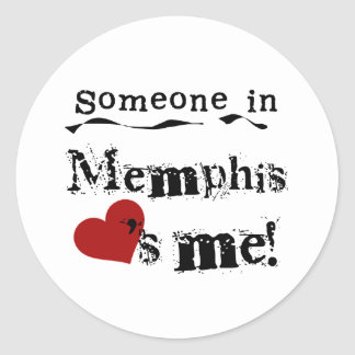 Someone in Memphis Stickers