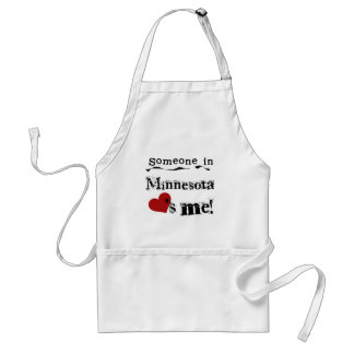 Someone In Minnesota Loves Me Standard Apron