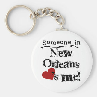 Someone in New Orleans Key Ring