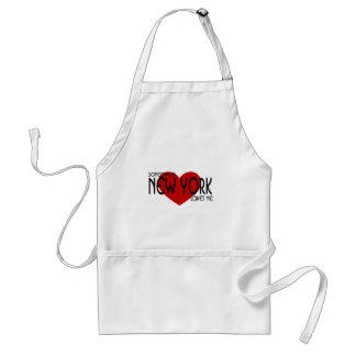 Someone in New York Loves Me Standard Apron