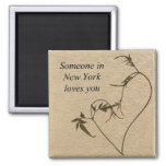 Someone In New York Loves You- Magnet