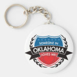 Someone In Oklahoma Loves Me Key Chains
