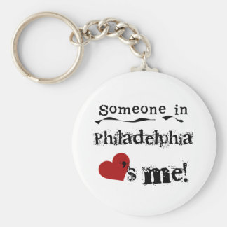 Someone in Philadelphia Key Ring