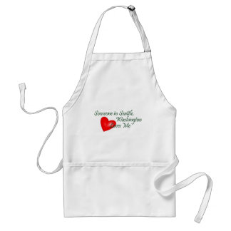Someone In Seattle Loves Me Standard Apron