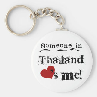 Someone In Thailand Loves Me Key Ring