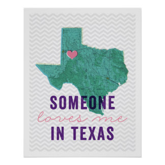 Someone Loves Me in Texas Poster