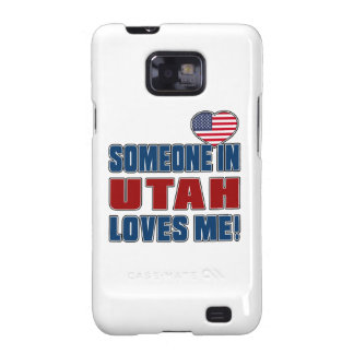 SOMEONE LOVES ME IN UTAH SAMSUNG GALAXY S2 COVERS