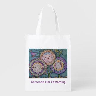 'Someone Not Something' reusable bag