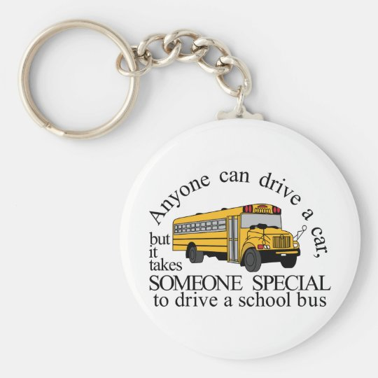 Someone Special Basic Round Button Key Ring