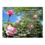 Someone Special Friendship Poem Postcard