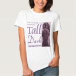 Someone Tall Dark & Handsom -  Friesian Horse Tshirt