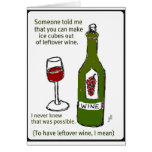 SOMEONE TOLD ME... WINE PRINT BY JILL GREETING CARD