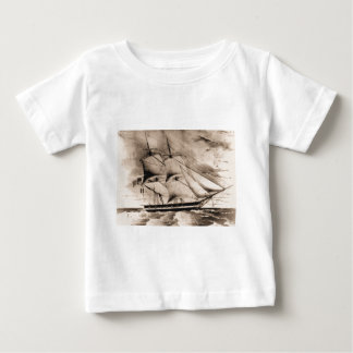Somers 1842 United States Historic ship Baby T-Shirt